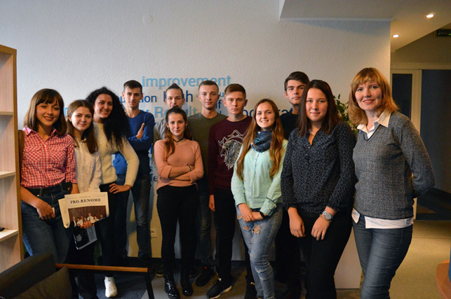 RENOME meets young talents from Lutsk in their walls
