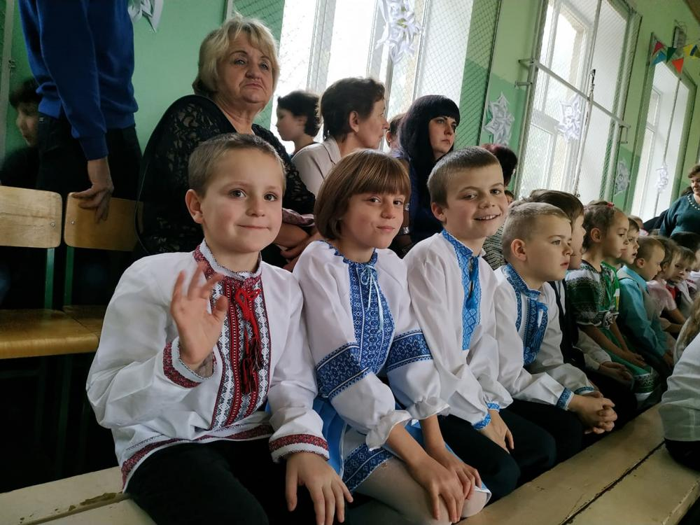 RENOME celebrating St. Nicholas Day at the Tuchyn Special School