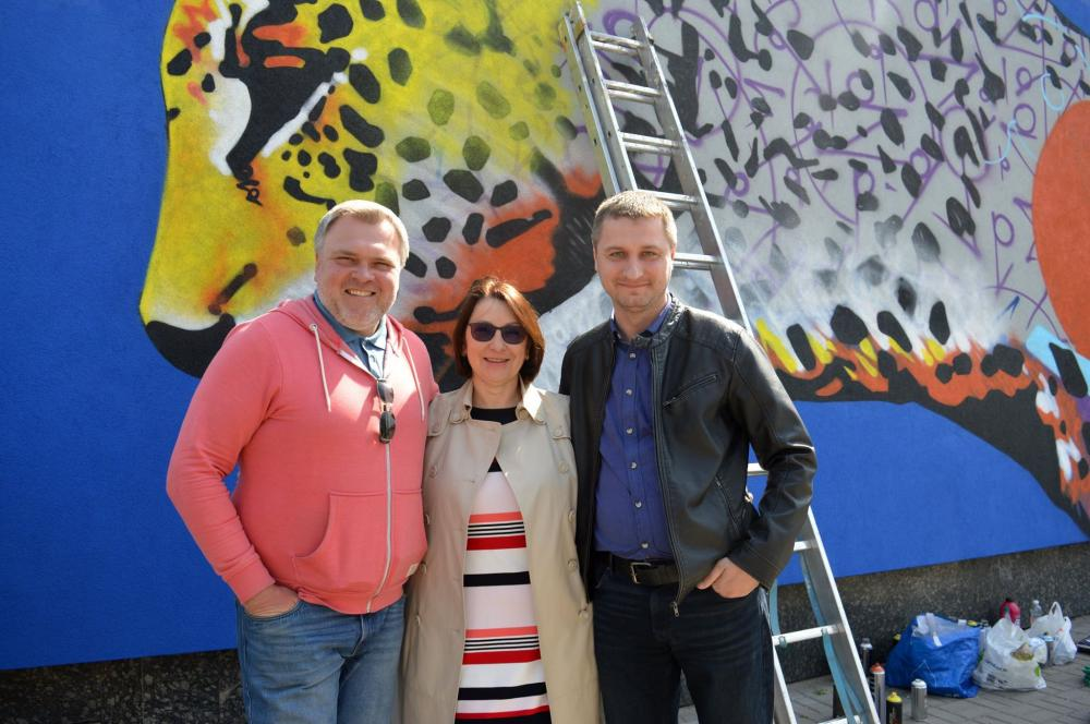 RENOME EUROBUD Company has joined the creation of a new Mural in Rivne