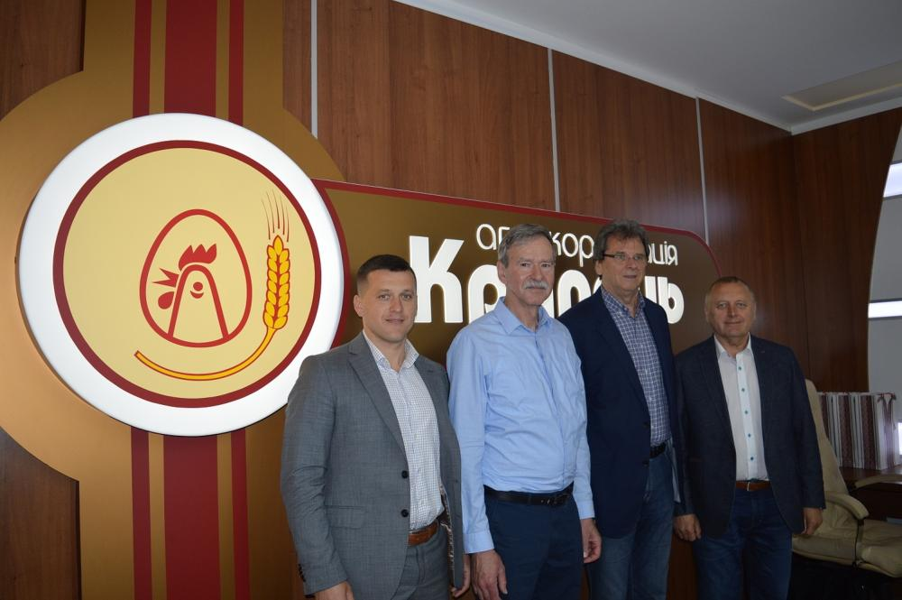 The KRUPETS agro corporation was visited by Hungarians to take advantage of the best experience in the field of agricultural production