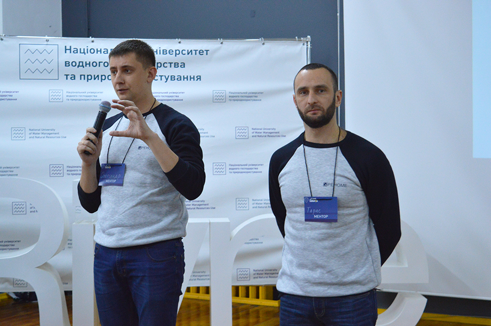 Representatives of the IT-direction RENOMA became mentors at the First Student Khakaton